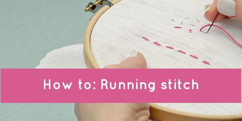 Video: How to do running stitch