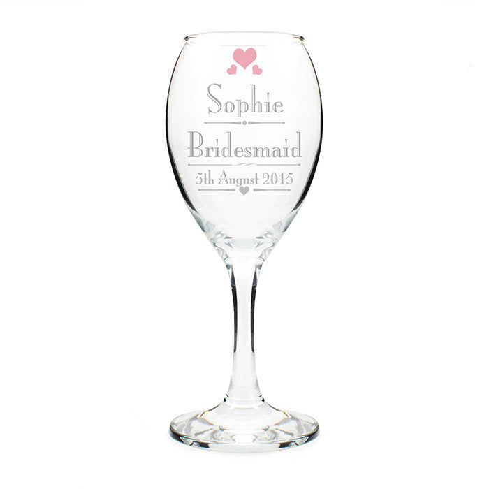 Personalised Glass - Wine Female