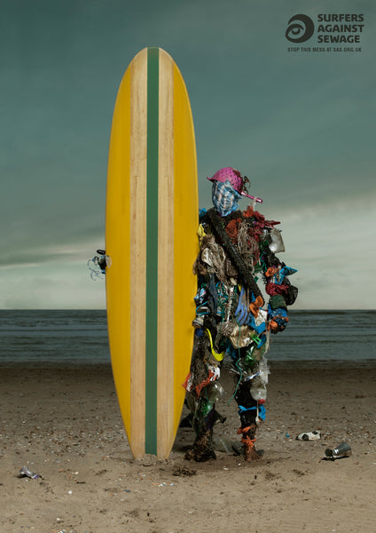Rubbish surfer advert