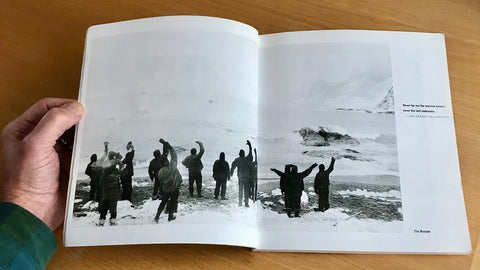 Rescue from Elephant Island captured by Frank Hurley