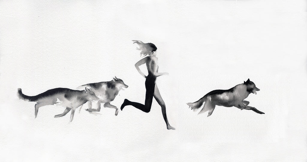 Women who run with Wolves by Tessa Lyons