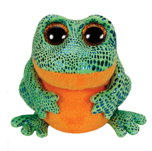 Big Eyed Stuffed Animal SPECKLES - frog Plush