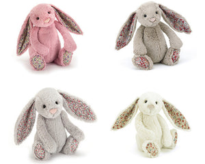 BLOSSOM Plush Bunny Rabbit With Flower Ears