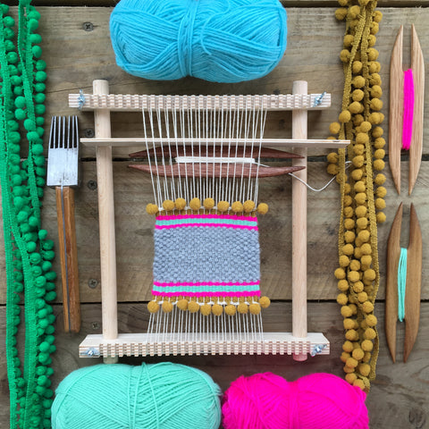 3 Hour Introduction to Frame Loom Weaving, Elka Studio, Thursday 27th May 2021
