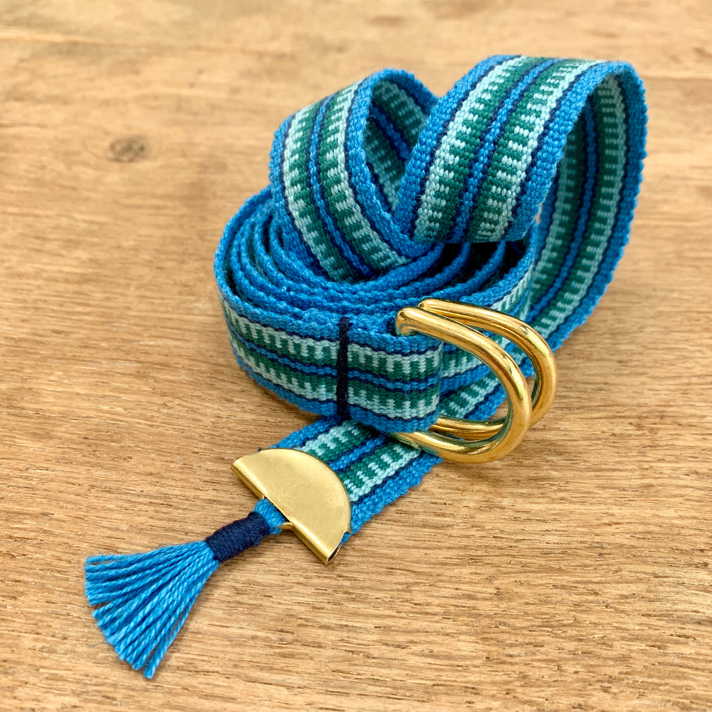 Handwoven Dress Belt with Tassel (2 colours)