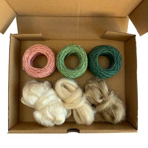 Naturally Dyed Yarn & Fibre Pack