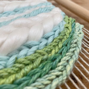 6 Hour Introduction to Frame Loom Weaving, ELKA studio, Littleton, Hampshire, Tuesday 13th October 2020