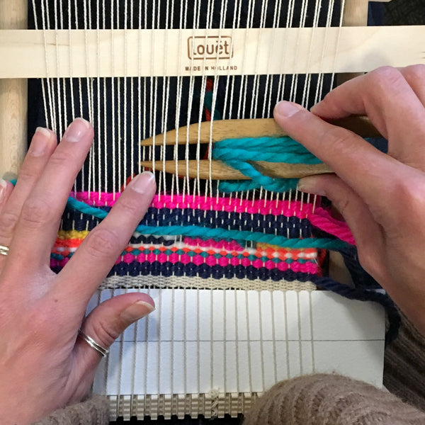 3 Hour Introduction to Frame Loom Weaving,The Hub, Bath: Saturday 21st November 2020 (PLEASE BOOK THROUGH THE JULIA DAVEY WEBSITE, LINK IN DESCRIPTION)
