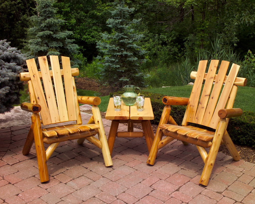 "The Patio Chairs & 25"" Side Table Set"
