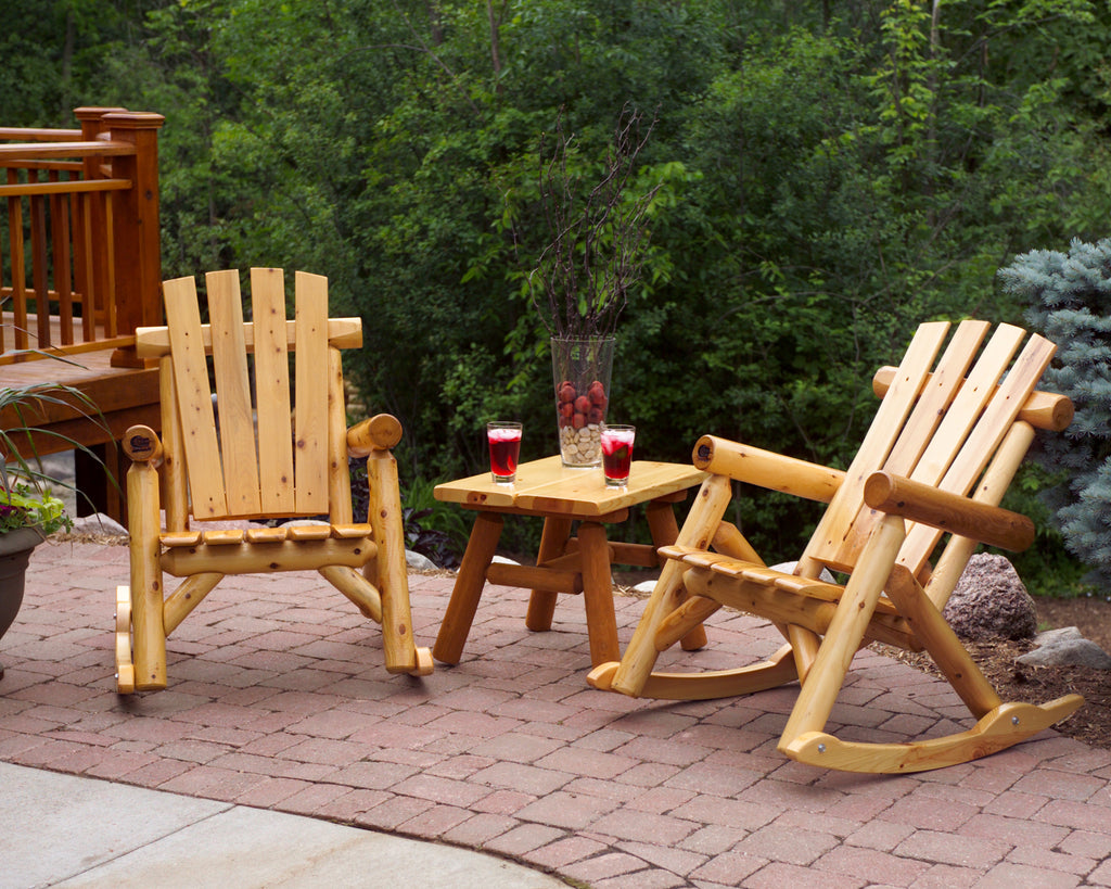 "The Patio Rocker & 28"" Side Table Set"