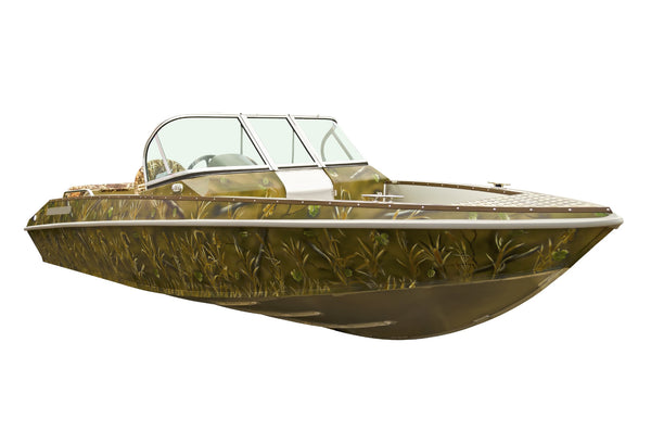 speed boat camouflage paint dead grass pattern