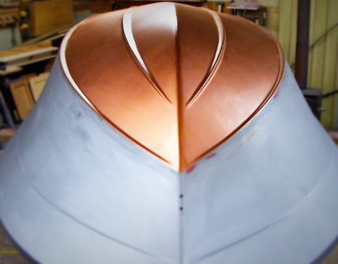copper bronze boat paint
