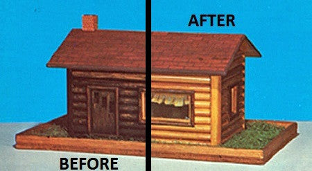 log cabin restoration with Kabin Kote