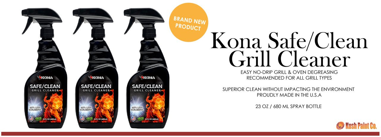 New Product! Kona Safe/Clean Grill Cleaner