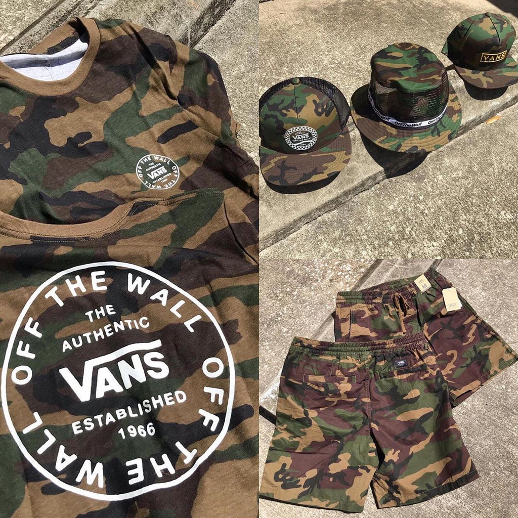 New Arrivals: Vans Camo Apparel