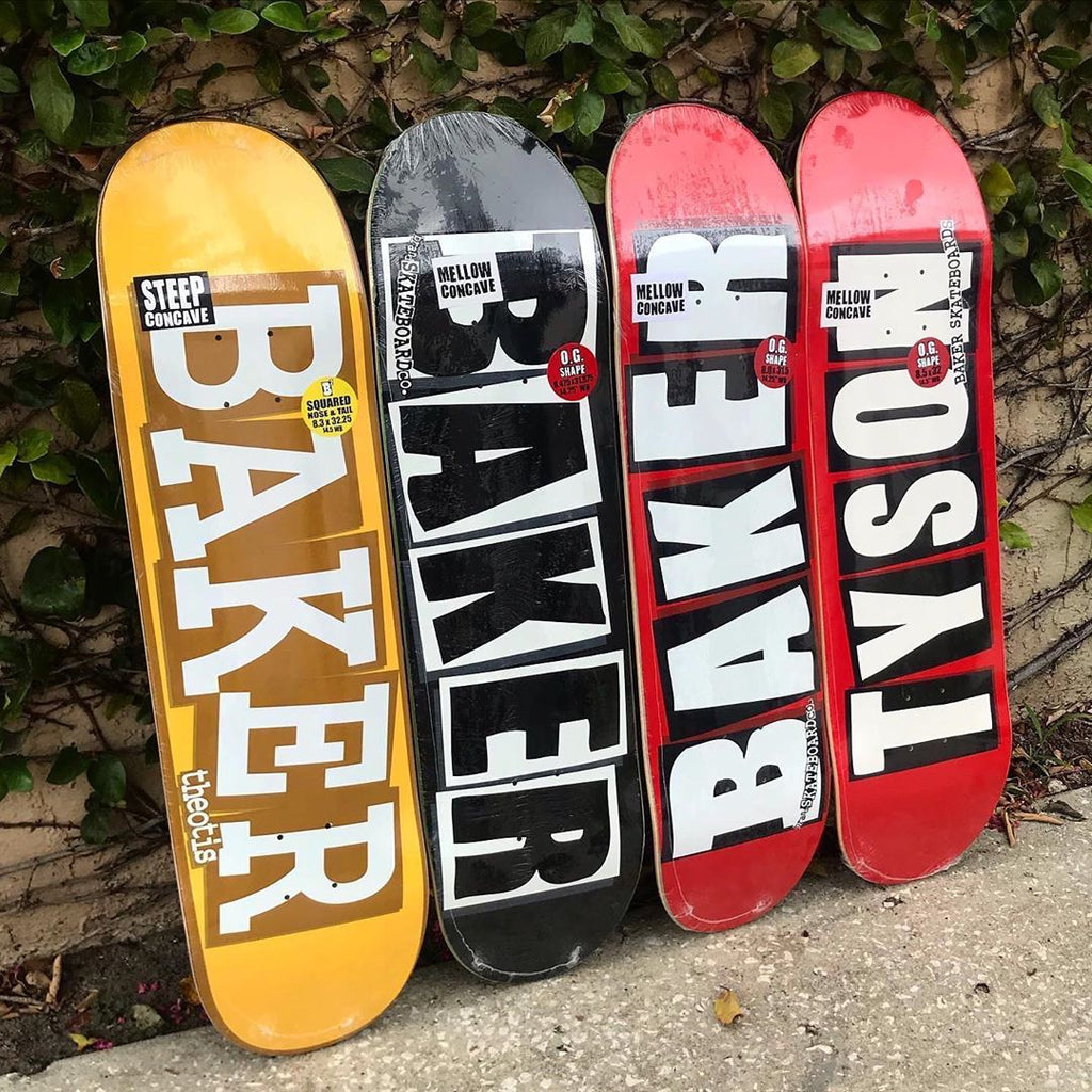 New Arrivals: Baker Skateboards