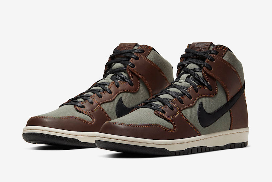 "Nike SB Dunk High ""Baroque Brown"""