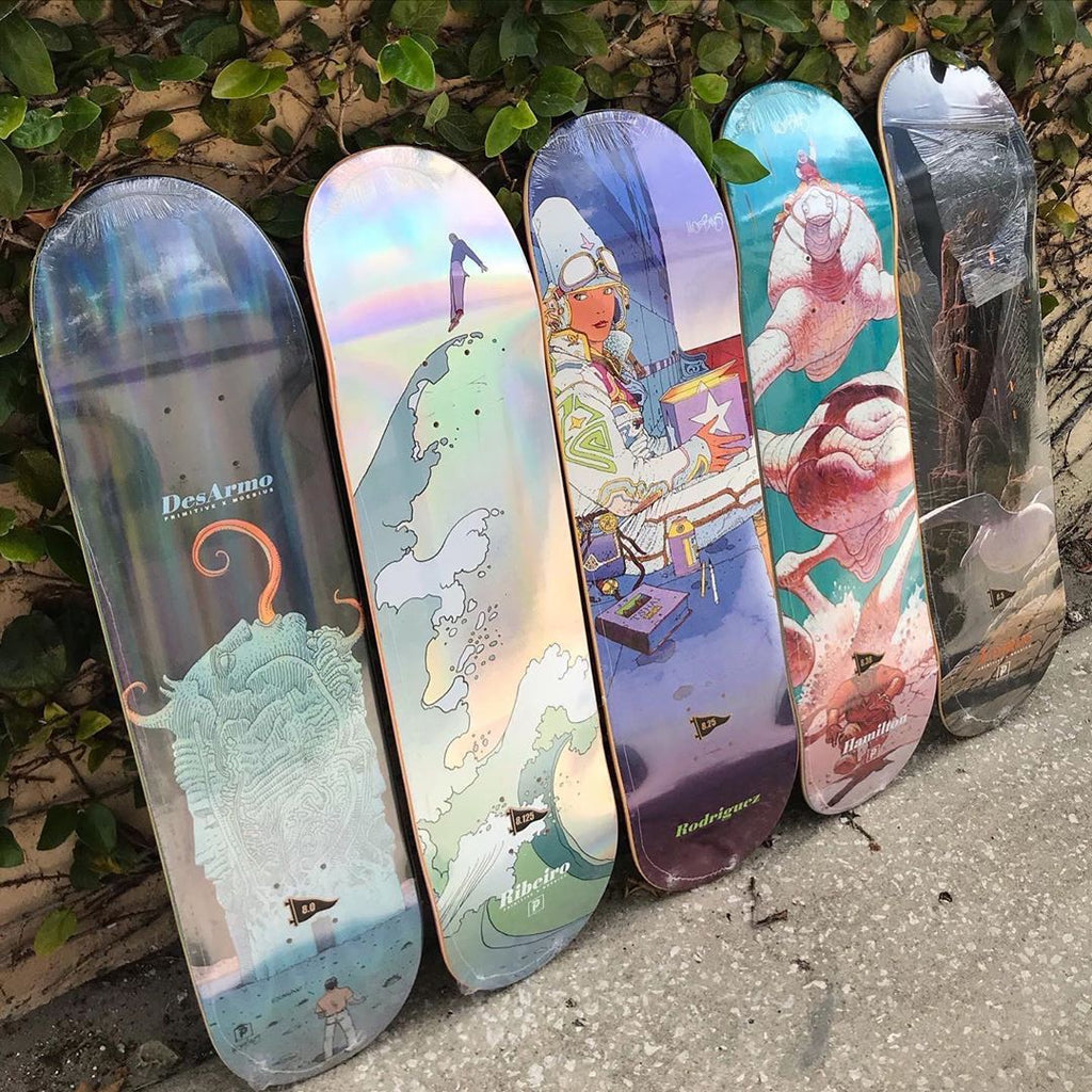 New Arrivals: Primitive Skateboards