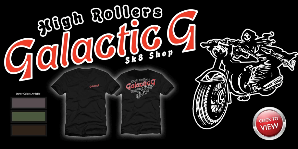 New Arrival: Galactic G - High Rollers T-shirt