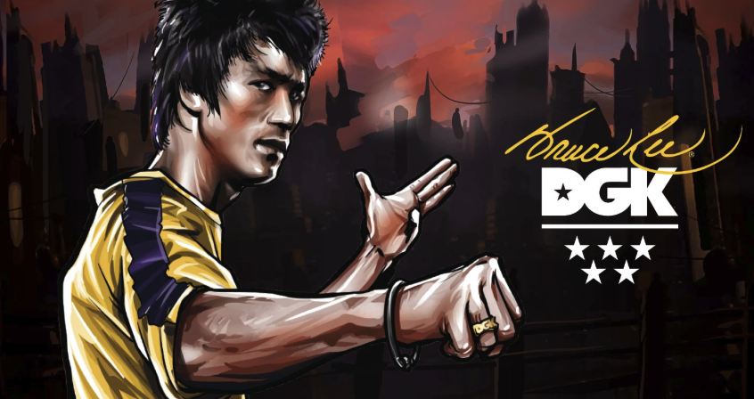 NEW ARRIVAL: DGK X BRUCE LEE COLLECTION