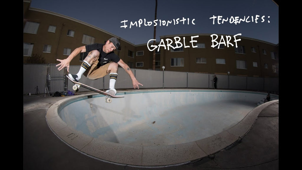 Antihero Skateboards: Implosionistic Tendencies - Garble Barf