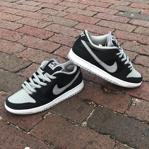 Nike SB Dunk Low Pro : Black/Medium Grey-Black/White : (Shadow Jpack)