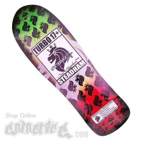"Stedmz Rasta Cx- Shape Turbo Gamers 9.75"" Deck (Signed)"