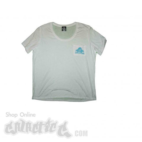Santa Cruz A-Frame Boyfriend Pocket Women Tee