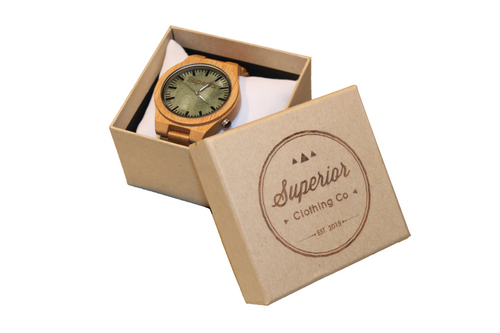Signature Superior Bamboo Watch
