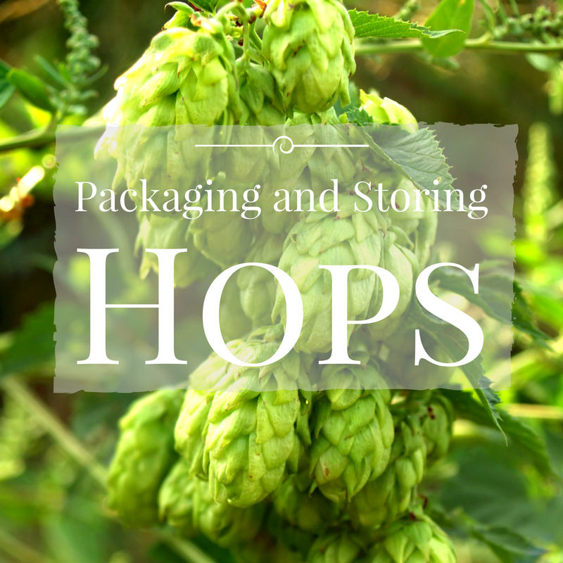 Packaging and Storing Hops
