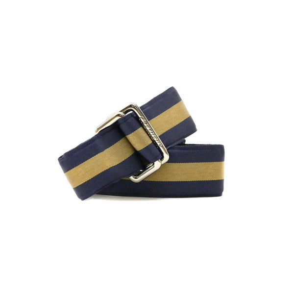 Ribbon Gold/Navy - Belt