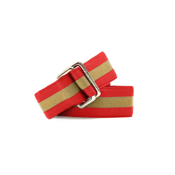 Ribbon Gold/Red - Belt