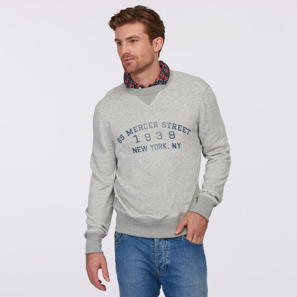 Ultra Soft Sweatshirt – 65 Mercer St. Graphic