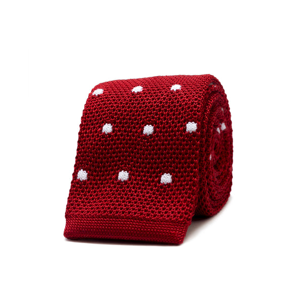 Daniel Cremieux Knit Tie - Red