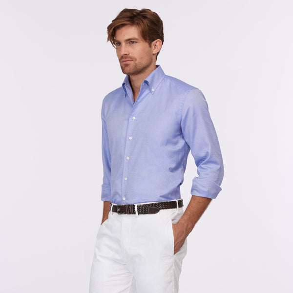 Daniel Cremieux Silver Label DOM Shirt - Royal twill