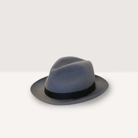 Christy's X Cremieux epsom racing trilby hat