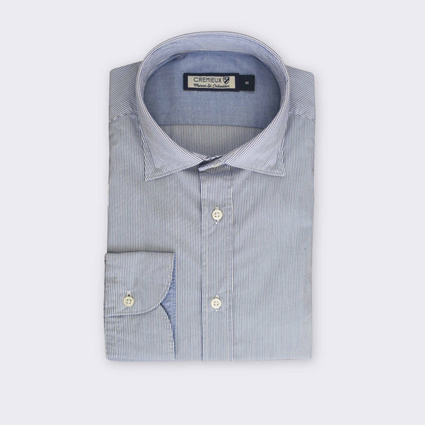 65 Mercer St. marbella pinstriped shirt