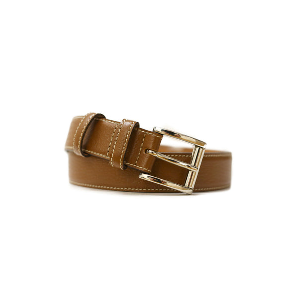 Cremieux Leather Belt
