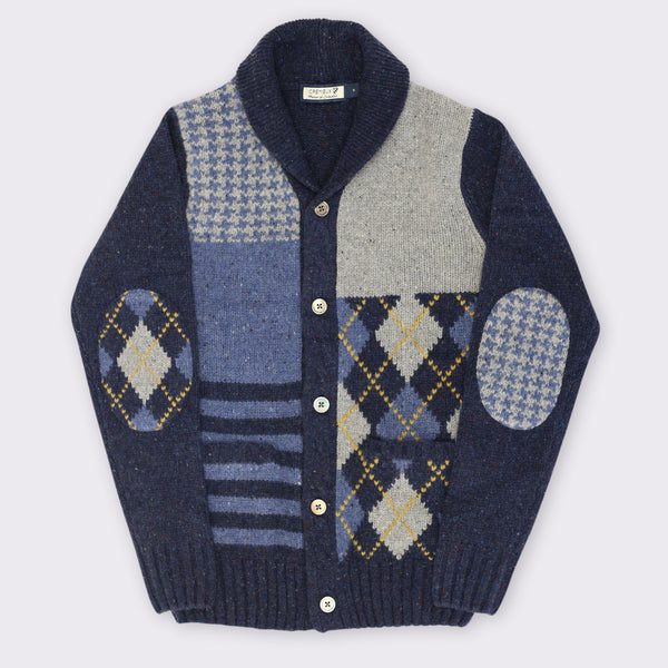 65 Mercer St. Patchwork shawl Cardigan
