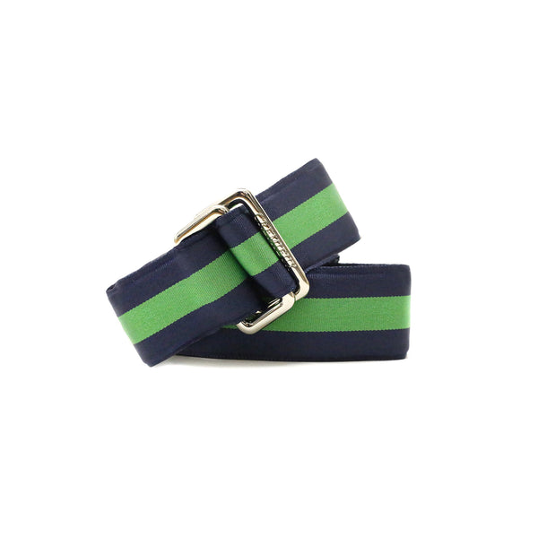 Ribbon Green/Navy - Belt