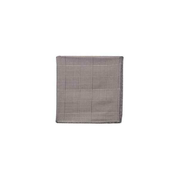 65 Mercer St. Glennplaid Pocket Square