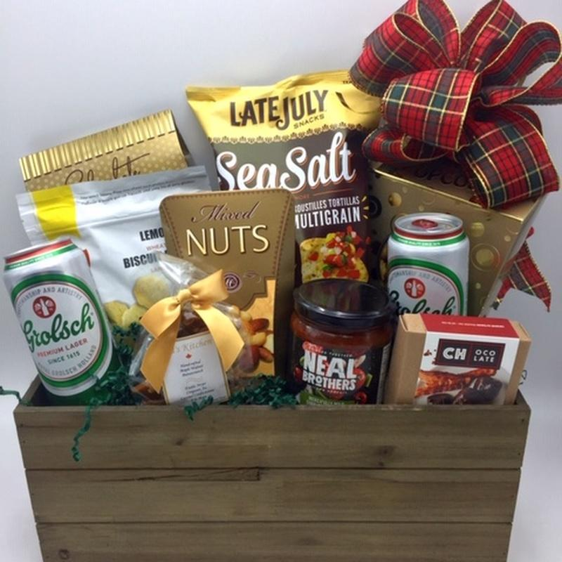 Gift Baskets always make a thoughtful gift!