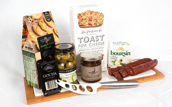 Charcuterie Board Gift Basket - Not Just Baskets