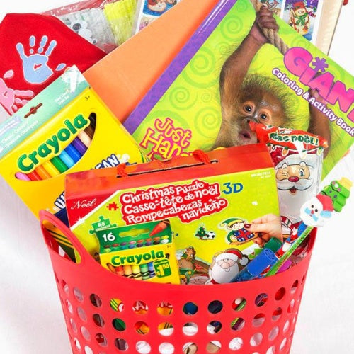 Kids Craft Gift Basket - Not Just Baskets