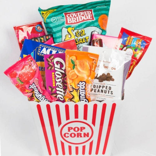 Movie Night Gift Basket - Not Just Baskets