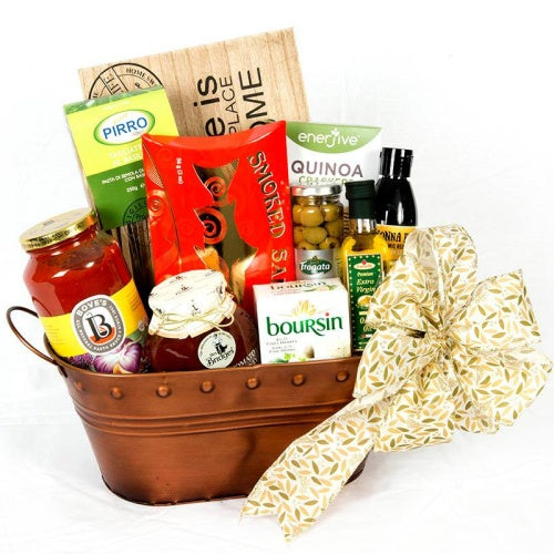 Home Sweet Home Dinner Gift Basket - Not Just Baskets