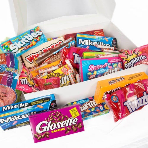 Junk Food Fix Gift Basket - Not Just Baskets