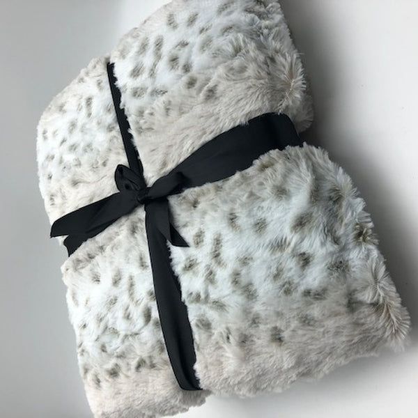 Faux Fur Throw - Not Just Baskets