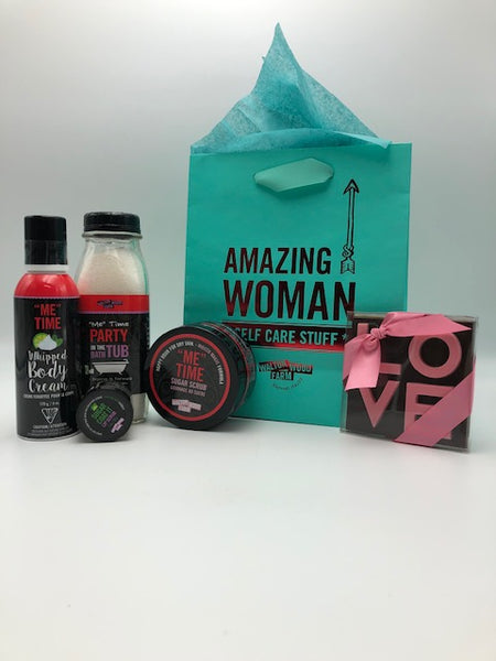 Valentines Day Me Time Gift Basket - Not Just Baskets