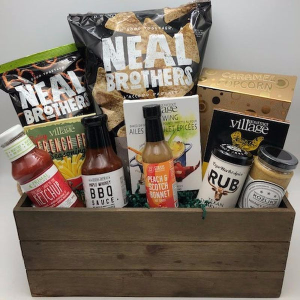 BBQ Time Gift Basket